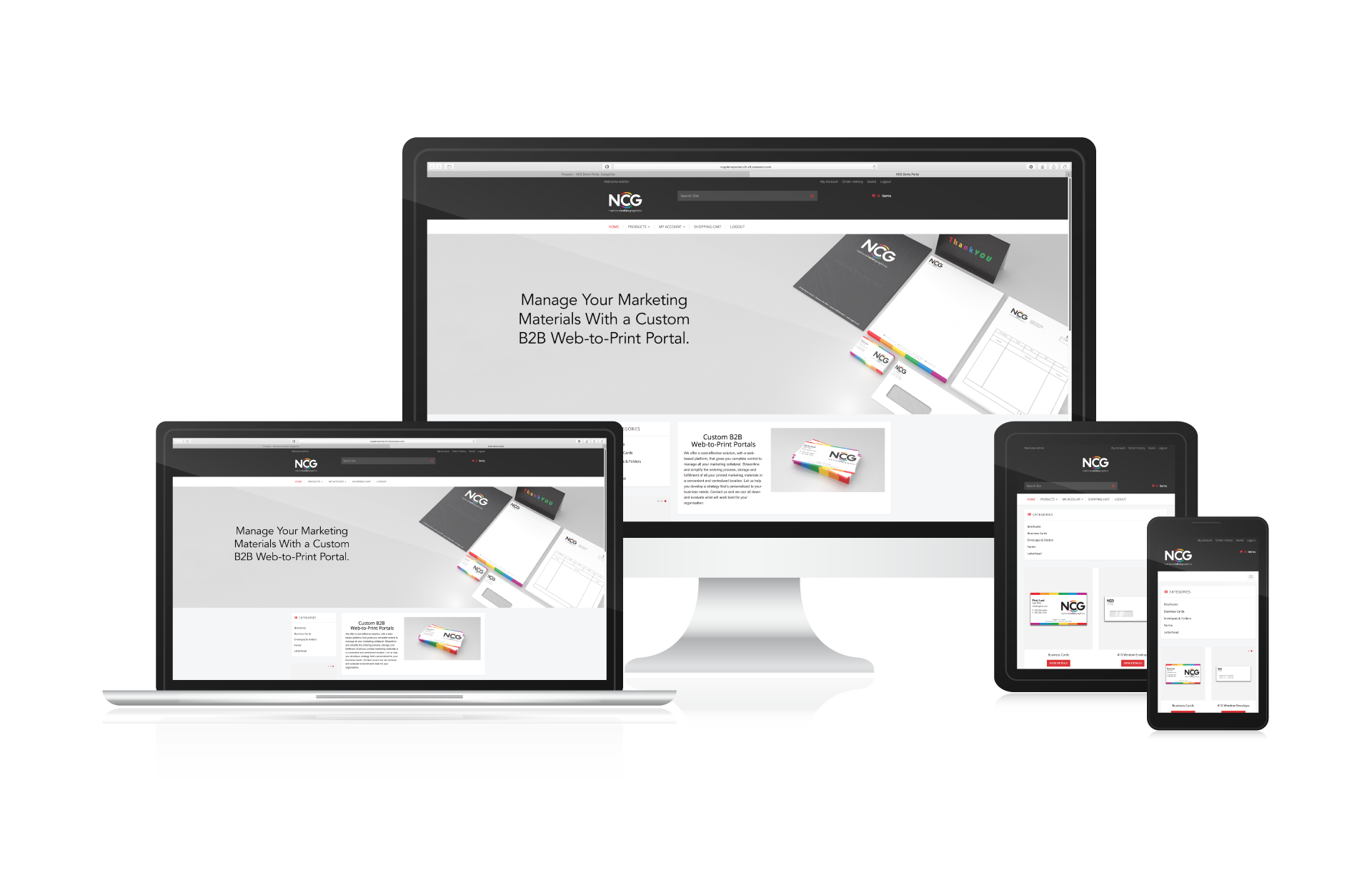 Convenient Marketing Collateral with Custom B2B Web-to-Print Portals